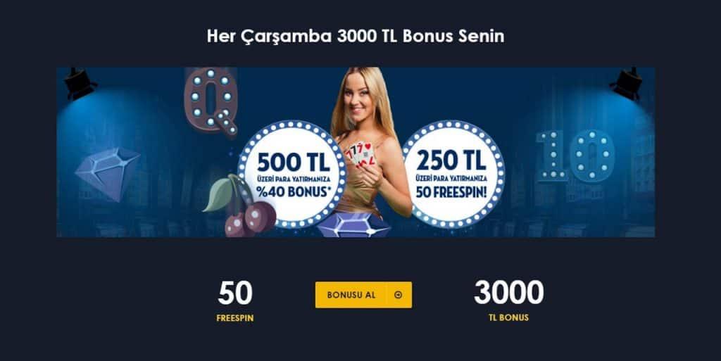 Bedava Casino Bonusu Al ve Oyna