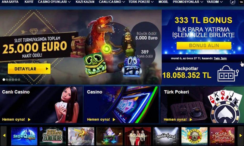 vip casino bonuslari ve elit uyelik